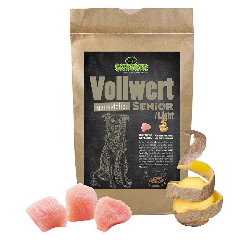 DOGREFORM Vollwert Senior / Light getreidefrei, Hundefutter, Trockenfutter 1,5 kg