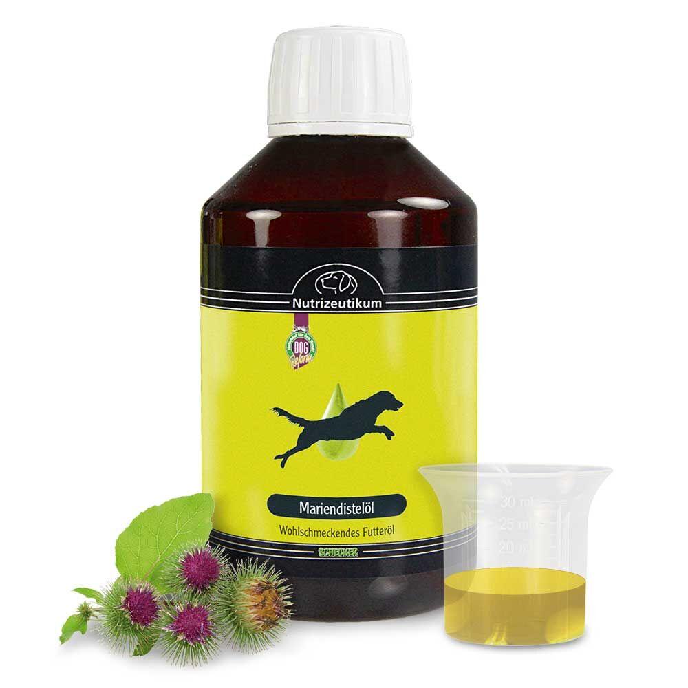 Futteröl Mariendistelöl  250 ml Unterstützt die Leberfunktionen und beruhigt die Haut