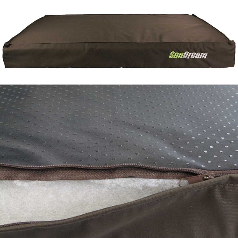 sandream antiparasit liegekissen braun. Black Bedroom Furniture Sets. Home Design Ideas