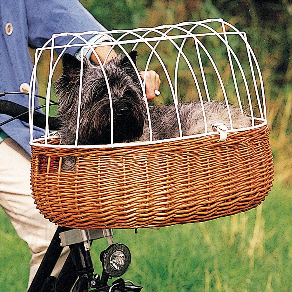 fahrradkorb mit drahtaufsatz f r die lenkstange inkl. Black Bedroom Furniture Sets. Home Design Ideas