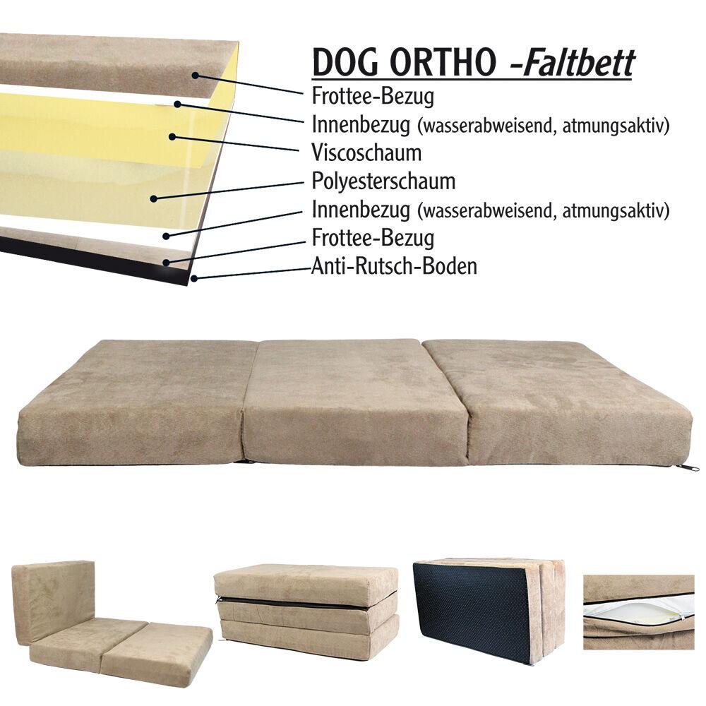 dog ortho faltbett. Black Bedroom Furniture Sets. Home Design Ideas