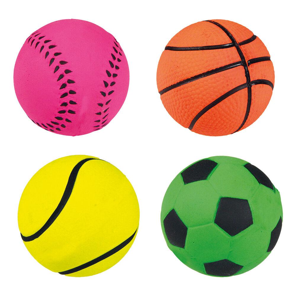 Moosgummiball, Spielball   6 cm