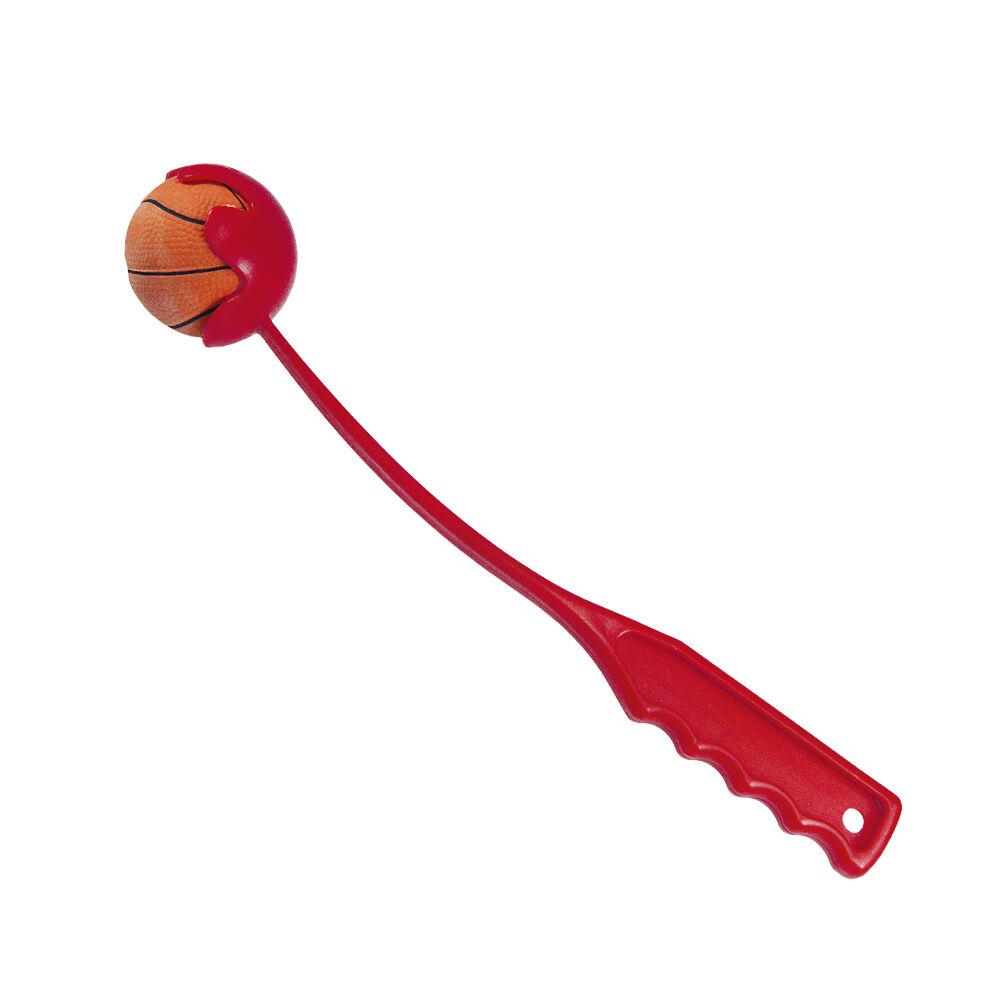 Ballschleuder mit Moosgummiball, 30 cm, Ball Ø 6 cm