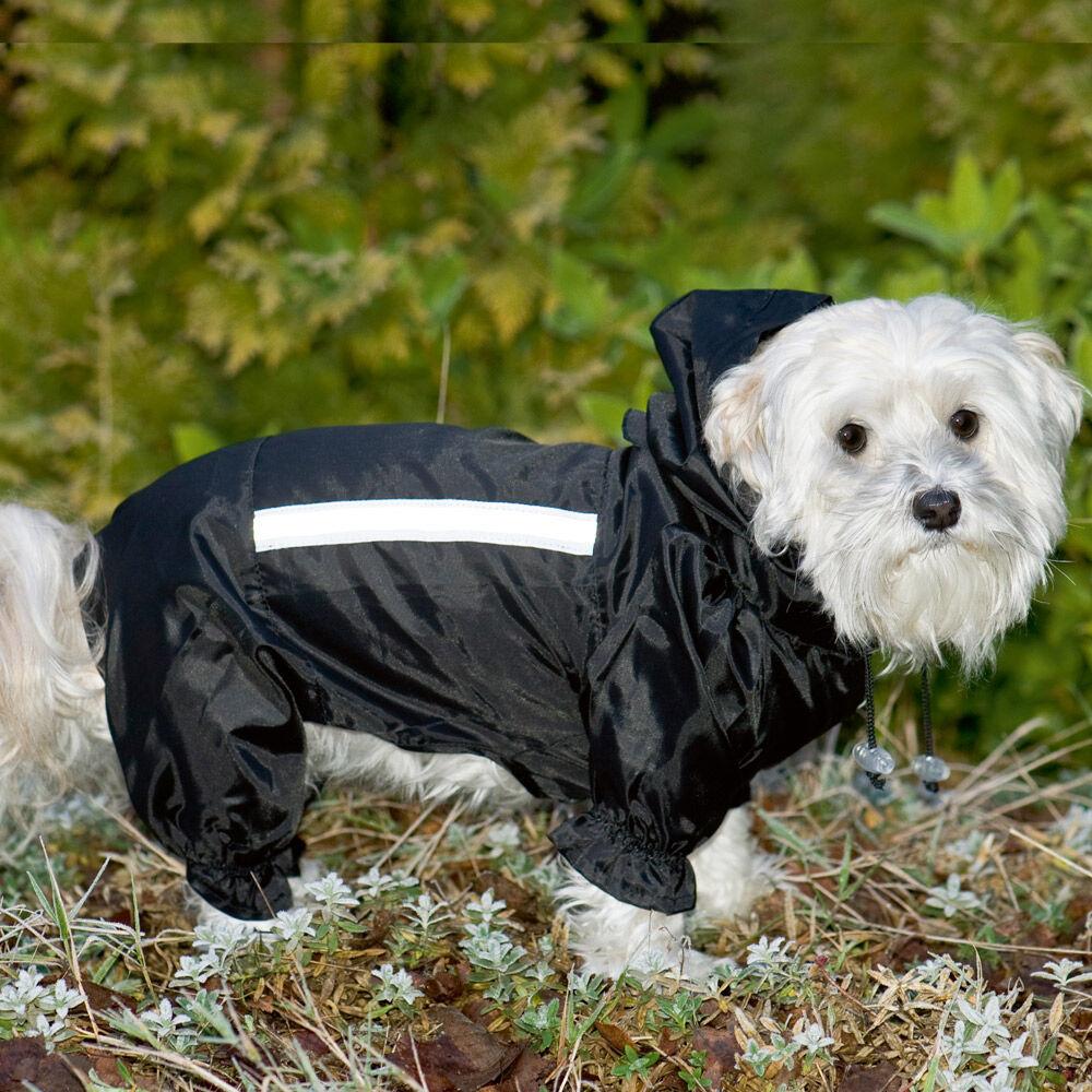 Hunde-Overall schwarz 26 cm