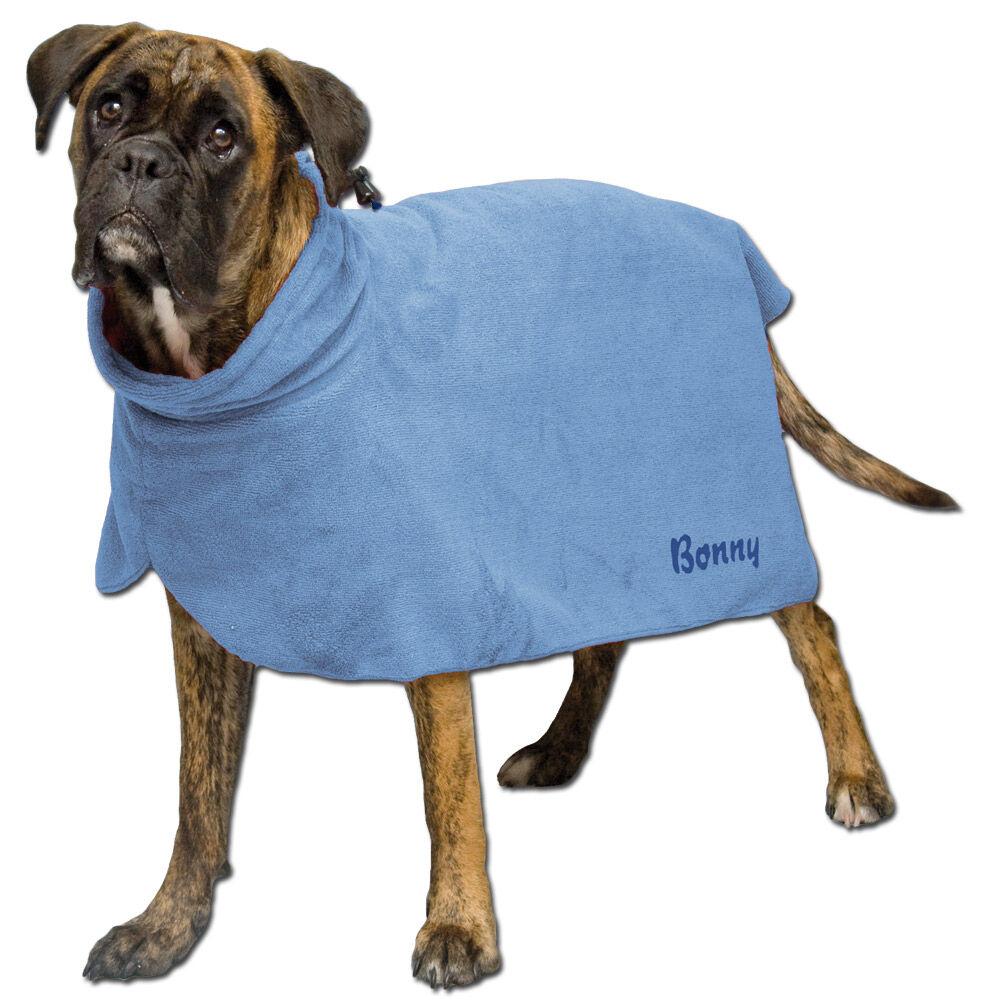 trocken und badetuch f r hunde jetzt mit dem namen ihres hundes. Black Bedroom Furniture Sets. Home Design Ideas