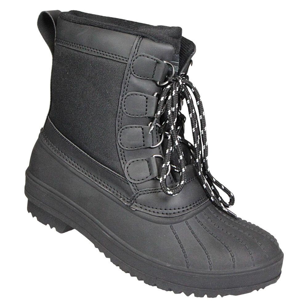 Schietwetter Schnürstiefel, Boots Gr.42 - schwarz