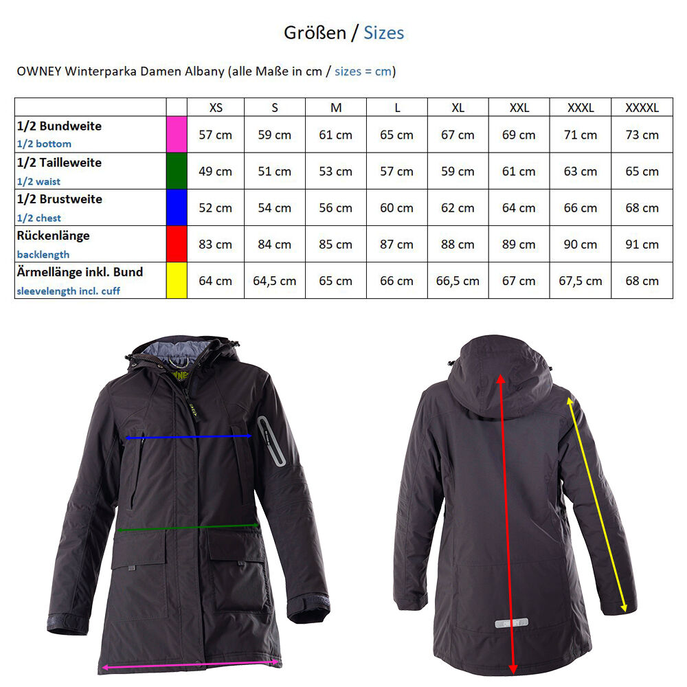 OWNEY Winterparka Damen Albany, grape Bild 4