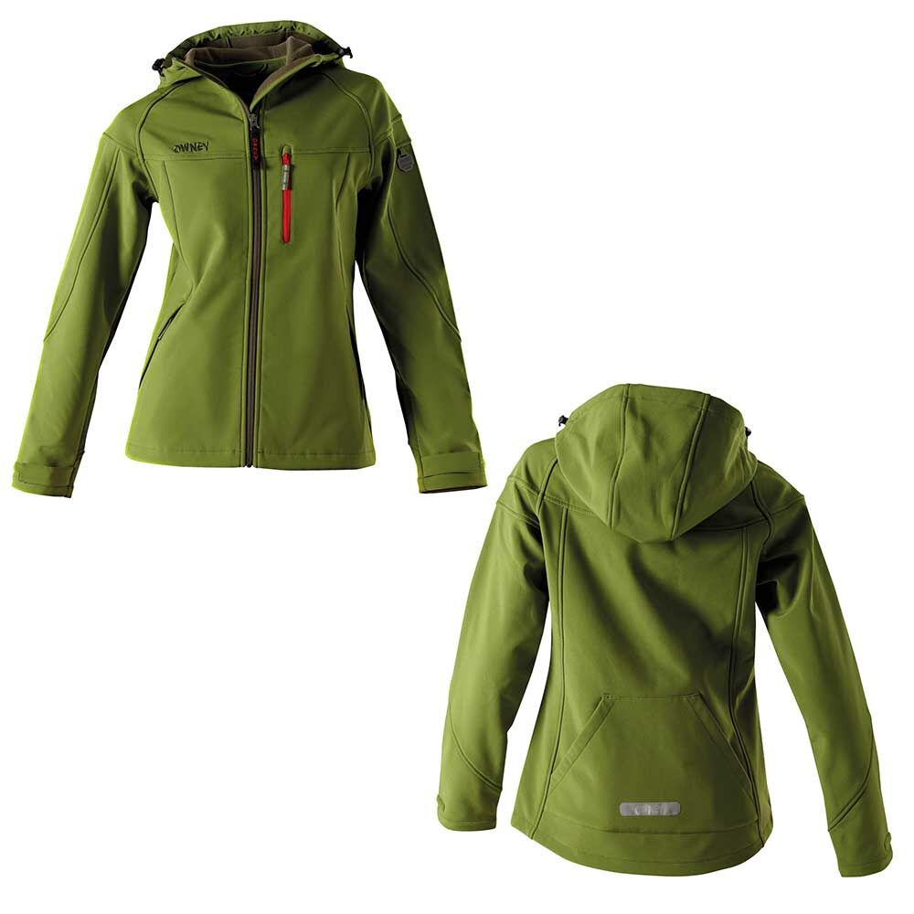 OWNEY Softshell-Jacke Damen Cerro, zedergrün  Bild 5