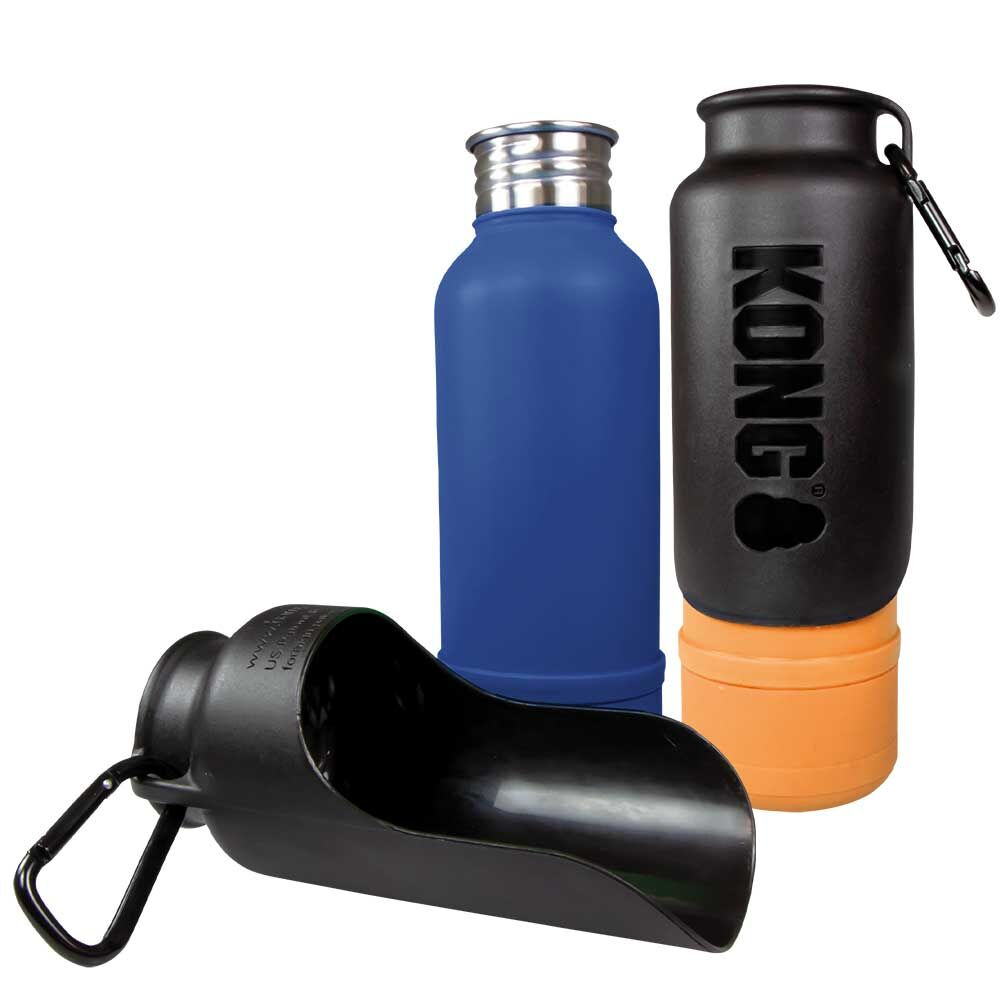 KONG H2O Thermoisolierte Hundetrinkflasche