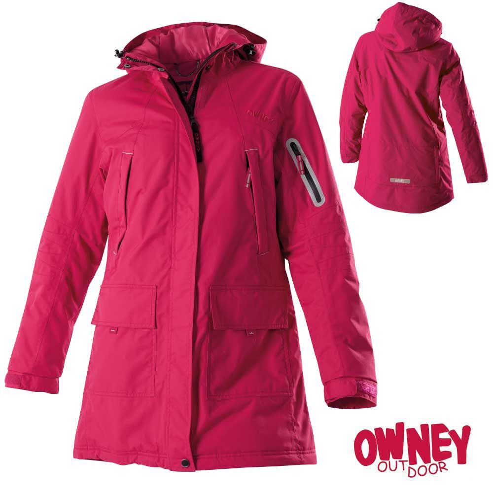 OWNEY Winterparka Damen Albany, grape
