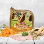 DOGREFORM Fleischtopf Schälchen-Menü mit Geflügel, Karotten un bei Schecker