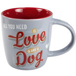 Nostalgic-Art Tasse Love and a Dog