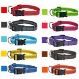 Grip Colour Rainbow - Halsband, Größe: M - L