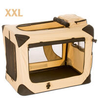 Soft-Box - 122 cm - beige (Hundetransportartikel, Hundegitter, Hundebox, Hundetransportbox)