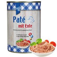Pate` mit Ente 400 g (Hundefutter, Nassfutter, Dosenfutter)