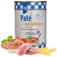 Schecko fit Paté mit Geflügel & Nudeln, 1 x 400 g