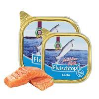 DOGREFORM Fleischtopf-Schälchen-PUR Lachs, Nassfutter