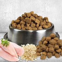 Huhn und Reis, 3 kg , für ausgewachsene Hunde (Hundefutter, Trockenfutter)