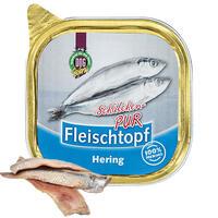 DOGREFORM Fleischtopf-Schälchen-PUR Hering, 3 x 200 g