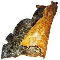 Lachshaut XXL - geräuchert - mit Fleischansatz
