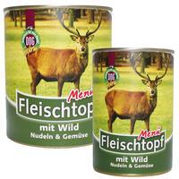 DOGREFORM Fleischtopf-Menü mit Wild, Nudeln & Gemüse, Nassfutter