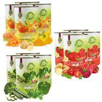 Gemüse PUR - grün, rot, gelb
