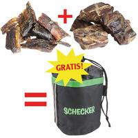 Horse Trainer 1 x hart, 1x weich + Gratis Gürteltasche (Hundekauartikel, Hundesnack, Hundeleckerlie)