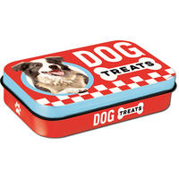Nostalgic-Art Leckerli-Dose Dog Treats, Farbe: Rot