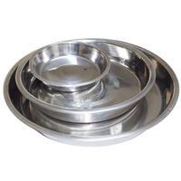 Edelstahl-Welpenschale. 0,3 l 15 cm Durchmesser (Hundenapf, Futternapf)