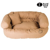 Ersatzbezug für Hunde-Sofa, Farbe: Nougat