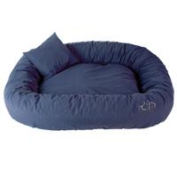 Ersatzbezug für Hunde-Bett, Farbe: Blau