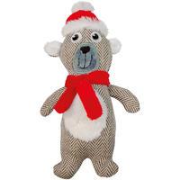 Weihnachtsspielzeug Eisbär
