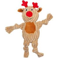Weihnachtsspielzeug Cord-Rentier
