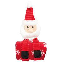 Santa Claus mit Decke