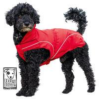 DogBite Winterjacke, Farbe: Rot