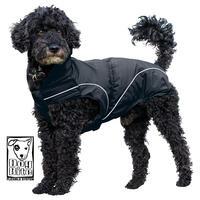 DogBite Regenjacke, Farbe: Schwarz