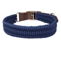 Schecker Parachute Halsband, Farbe: Navy