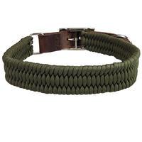 Schecker Parachute Halsband, Farbe: Olive