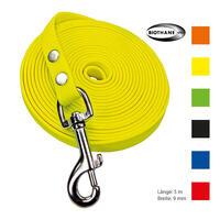Schecker Biothane® Schleppleine ohne Handschlaufe, 5 m /9 mm
