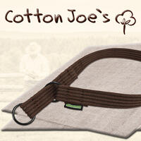 Cotton Joe`s Hunde (Schlupf-) Halsbänder, Farbe: Schoko-Braun