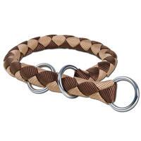 Cavoflex Zugstop-Halsband - rund, Farbe braun