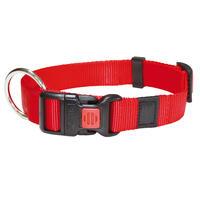 Nylon-Halsband Sportiv, Farbe: Rot