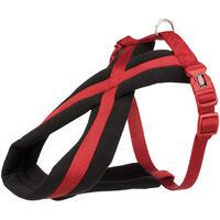 Gepolstertes Nylon-Geschirr Sportiv, Farbe: schwarz-rot