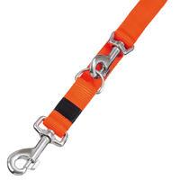 Nylon-Führleinen Sportiv, Farbe: Orange