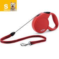 Flexi-Leine Nr.1-5, rot, 5 m, bis 12 kg (Hundeleine, Hundehalsband, Hundebrustgeschirr, Hundehalstuch)