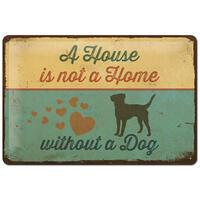 Nostalgic-Art Schild A House is not a home