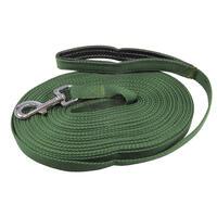 Gurtband-Suchleine,15m, grün