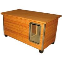 ARCO-Holzhütte- de Luxe mit Vorraum