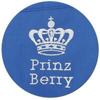 Besticktes Halstuch, Farbe royalblau, verschiedene Designs