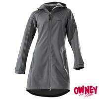 OWNEY Damen Softshell Coat City Hiker, anthrazit